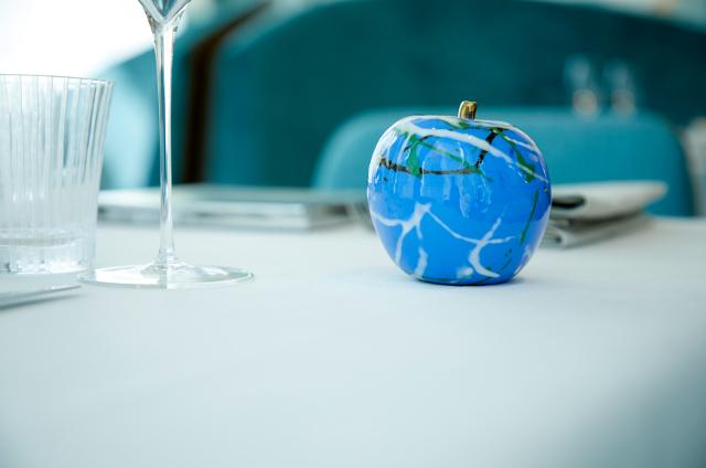 りんごのオブジェ「Heart」